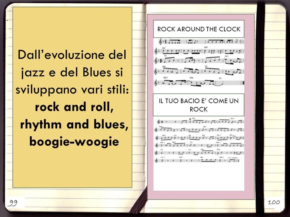 Dall'evoluzione del jazz e del Blues si sviluppano vari stili: