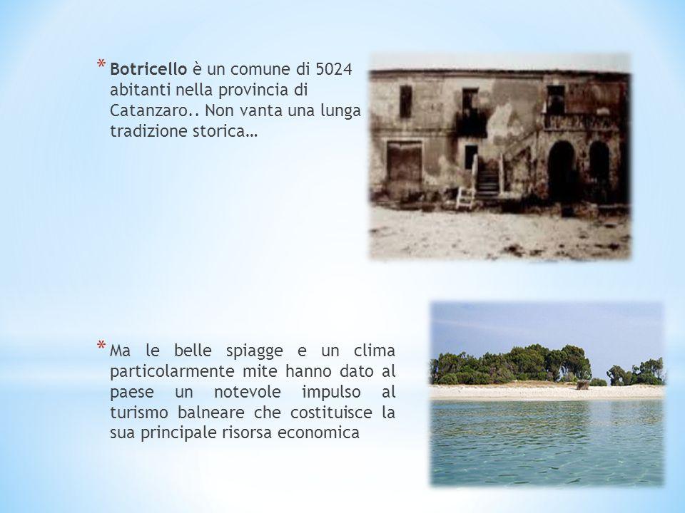 Botricello è un comune di 5024 abitanti nella provincia di Catanzaro