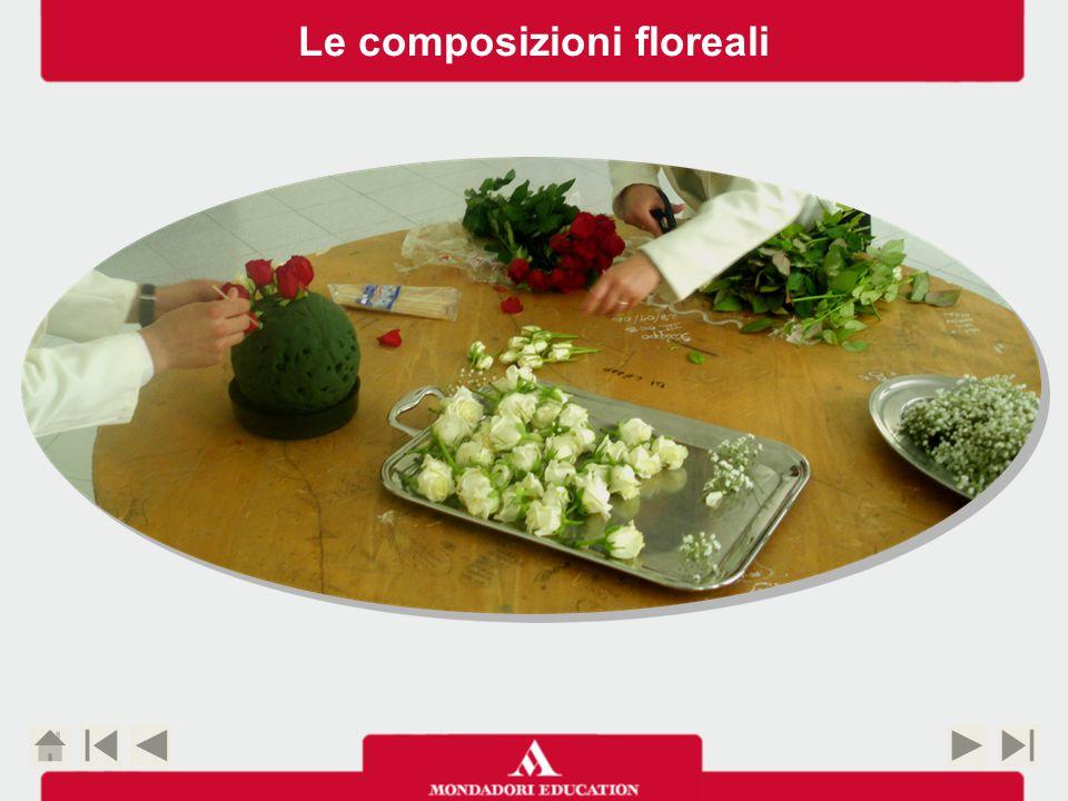 Le composizioni floreali