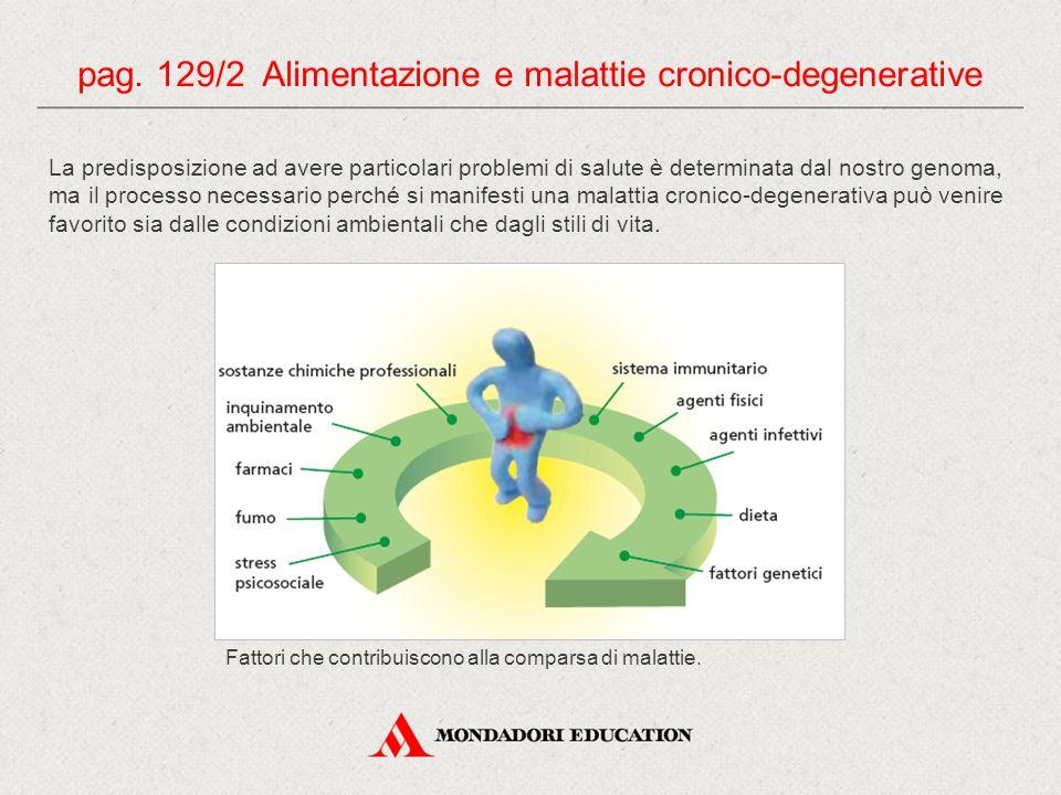 pag. 129/2 Alimentazione e malattie cronico-degenerative