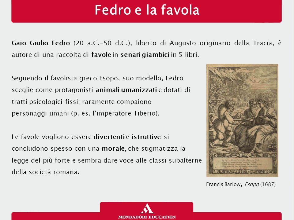 Fedro e la favola 14/01/13.