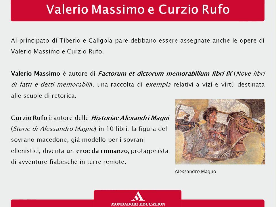 Valerio Massimo e Curzio Rufo