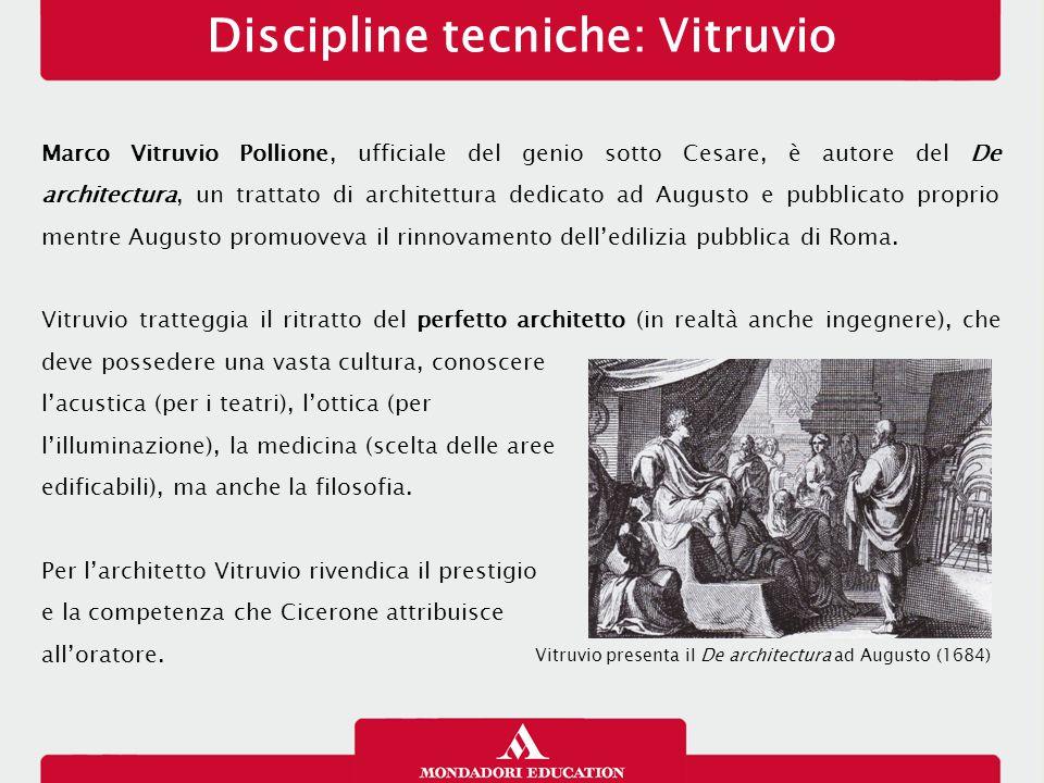 Discipline tecniche: Vitruvio