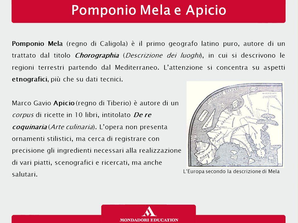Pomponio Mela e Apicio 14/01/13.