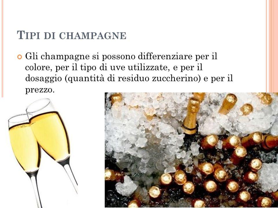 Tipi di champagne