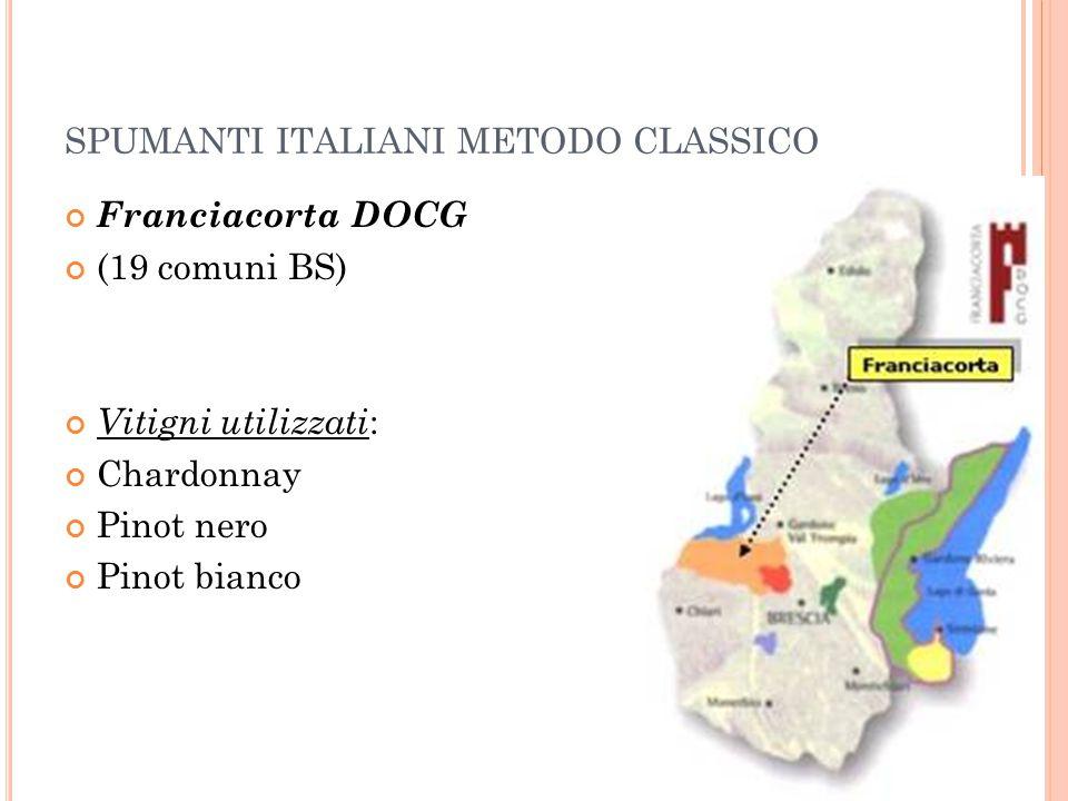 SPUMANTI ITALIANI METODO CLASSICO