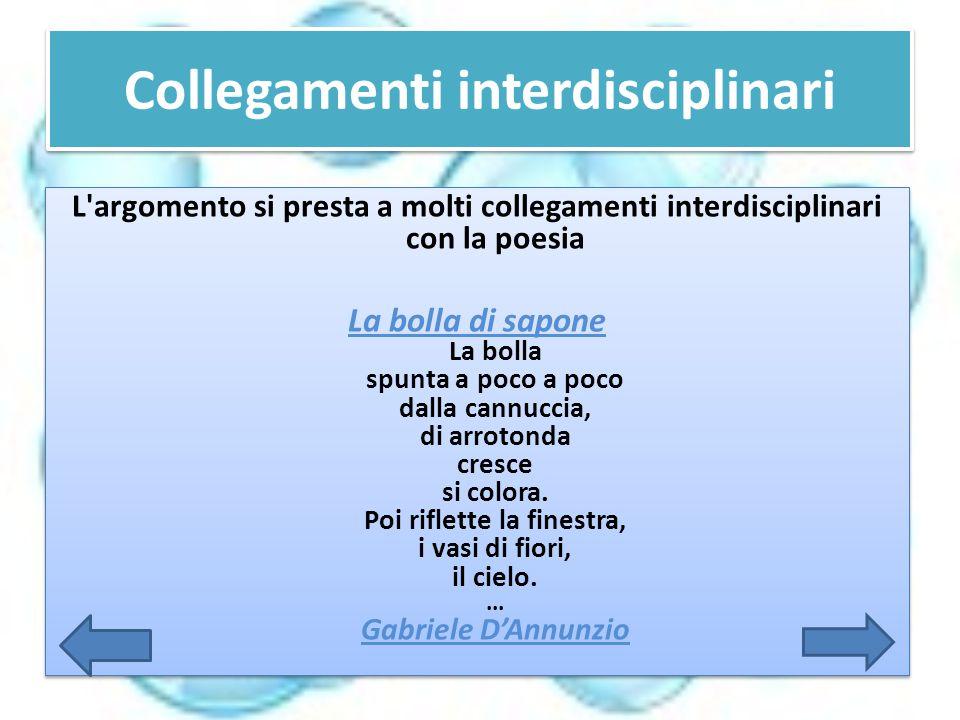Collegamenti interdisciplinari