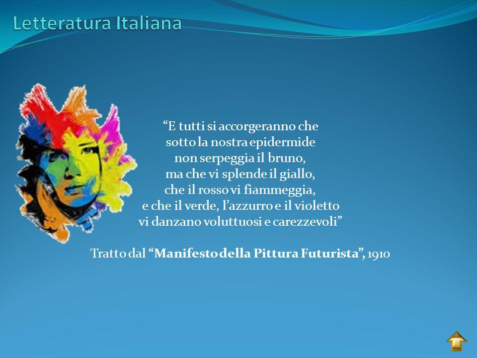 Letteratura Italiana E tutti si accorgeranno che