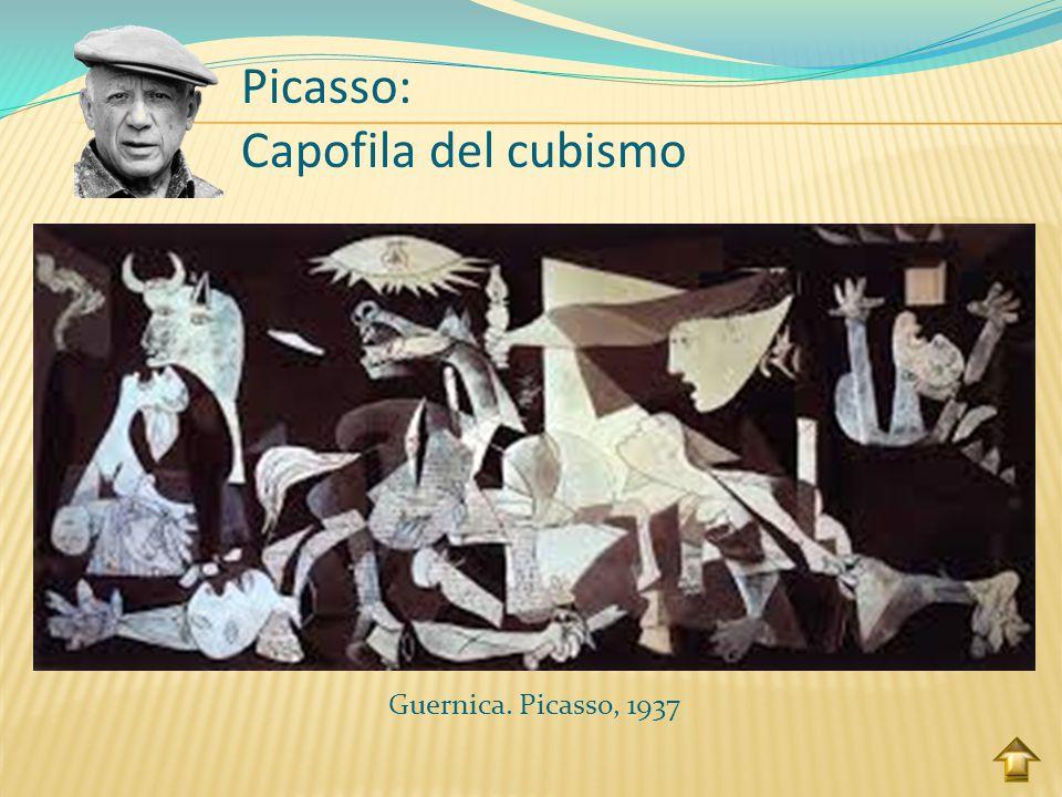 Picasso: Capofila del cubismo