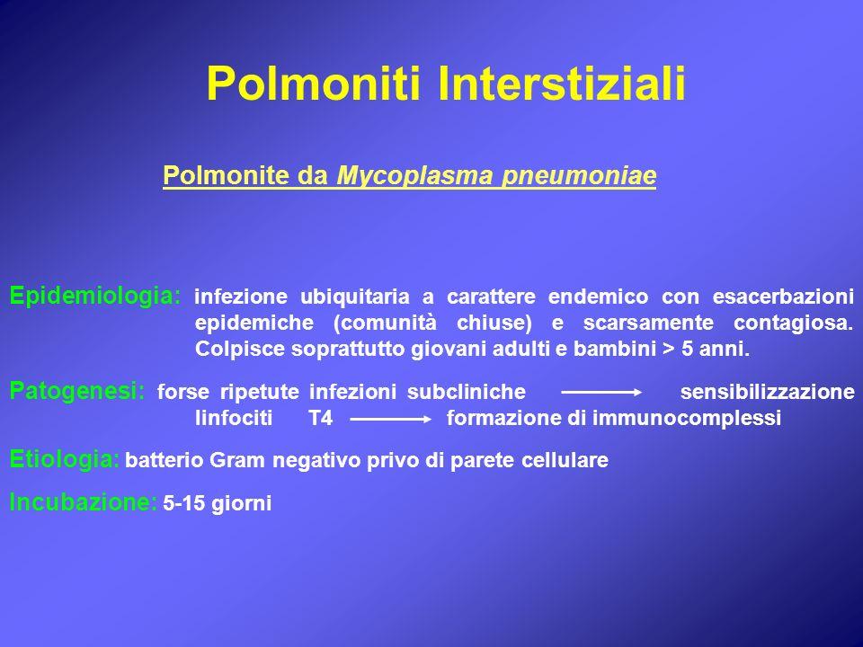 Polmoniti Interstiziali