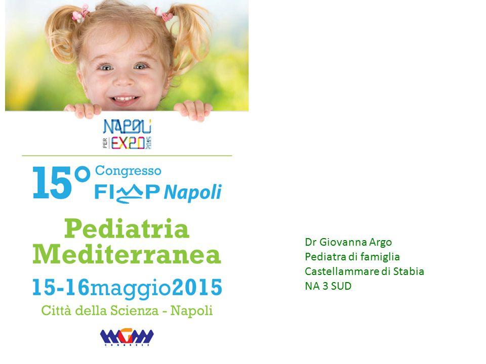 Dr Giovanna Argo Pediatra di famiglia Castellammare di Stabia NA 3 SUD