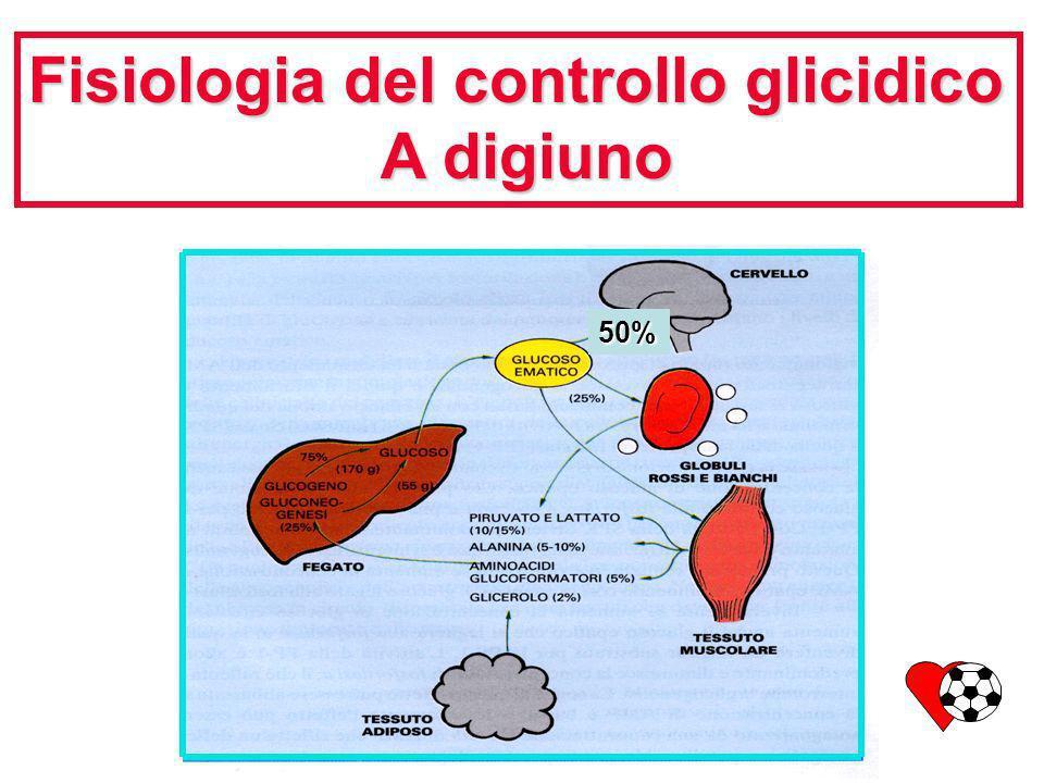 Fisiologia del controllo glicidico A digiuno