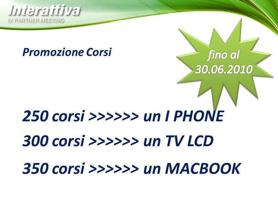 250 corsi >>>>>> un I PHONE
