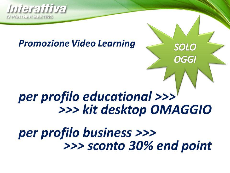 per profilo educational >>> >>> kit desktop OMAGGIO