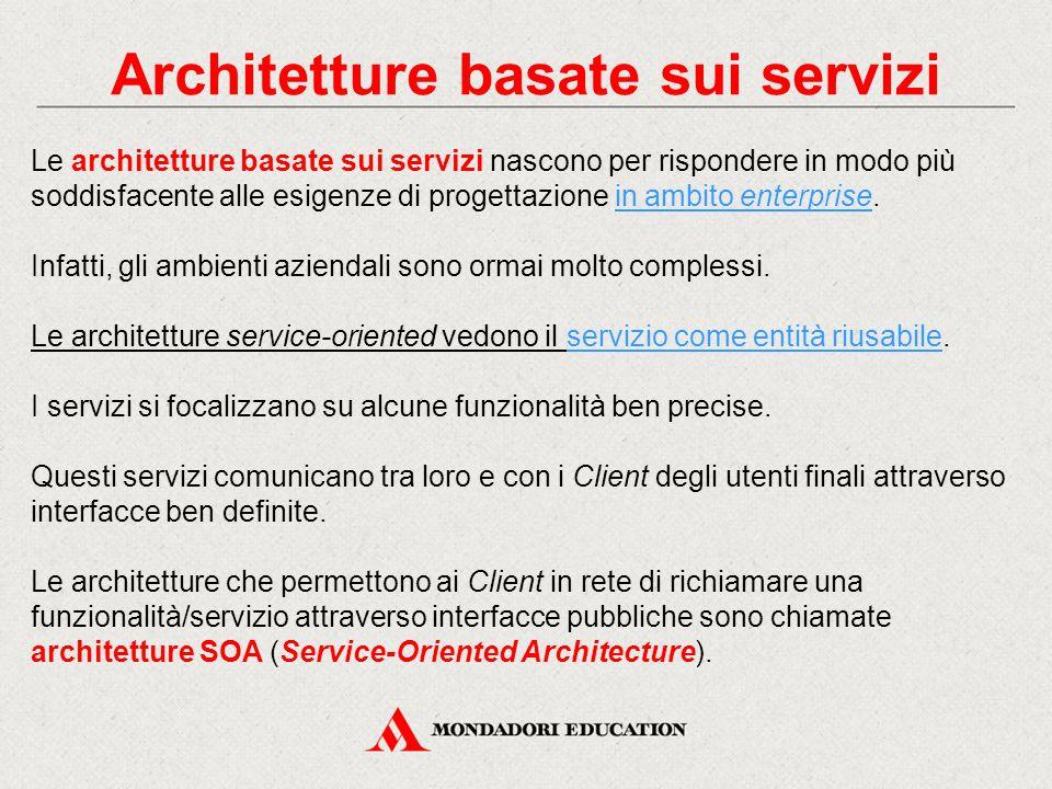 Architetture basate sui servizi