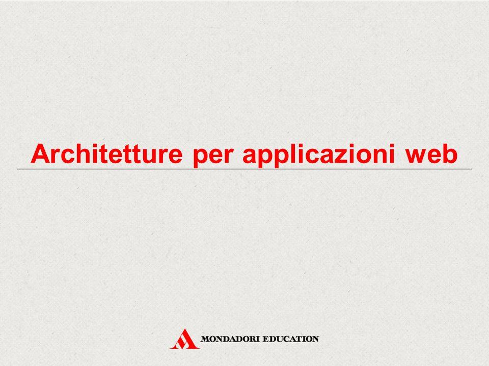 Architetture per applicazioni web