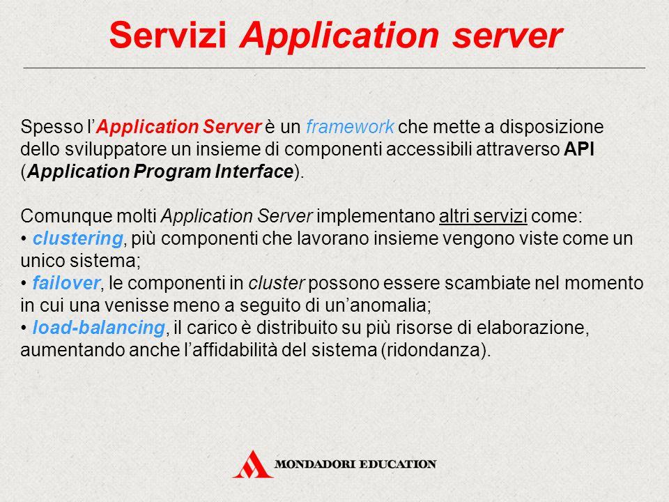 Servizi Application server