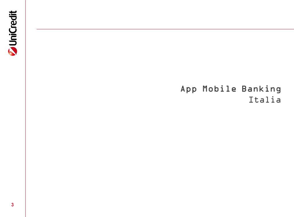 App Mobile Banking Italia
