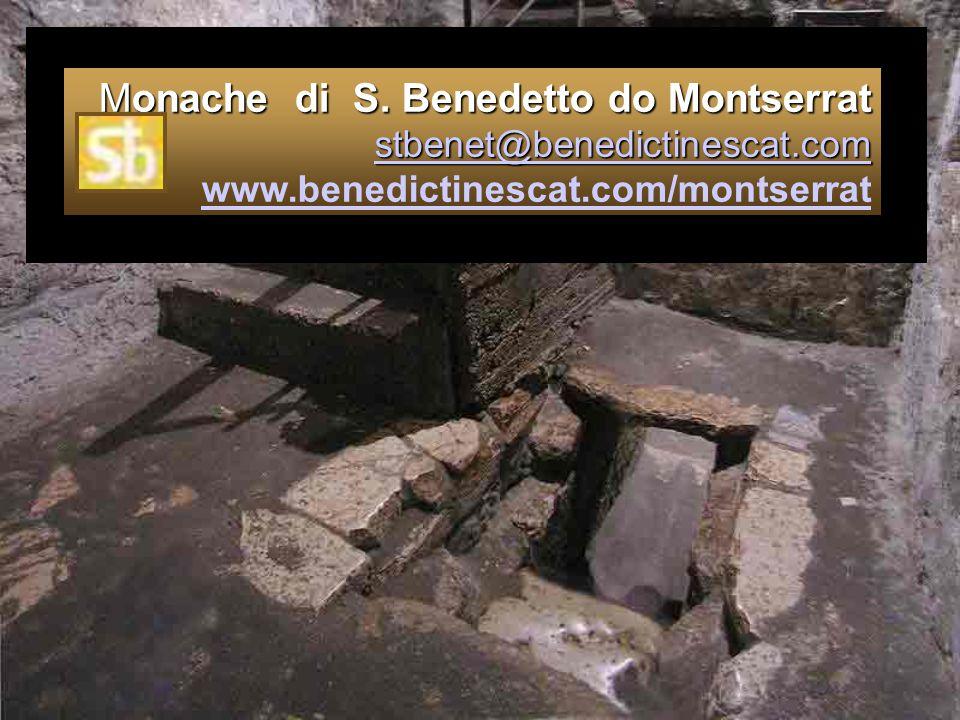 Monache di S. Benedetto do Montserrat stbenet@benedictinescat. com www