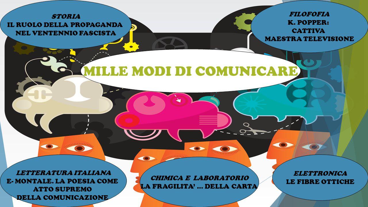 MILLE MODI DI COMUNICARE