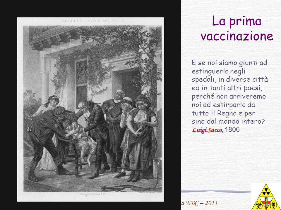 La prima vaccinazione