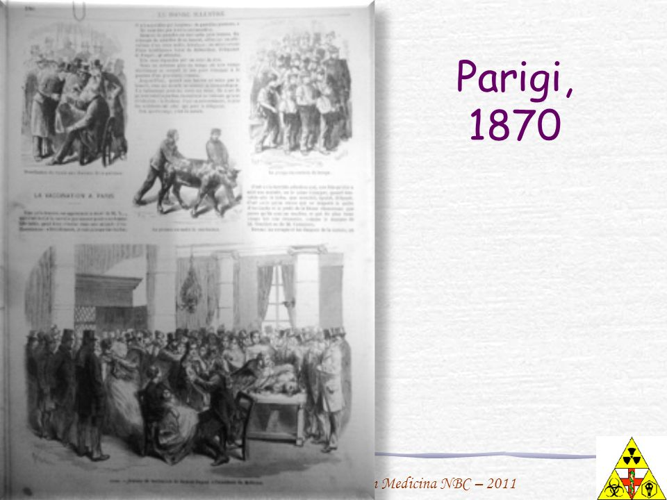 Parigi, 1870 1870 M3H180 VACCINATION A PARIS DOCTEUR DEPAUL