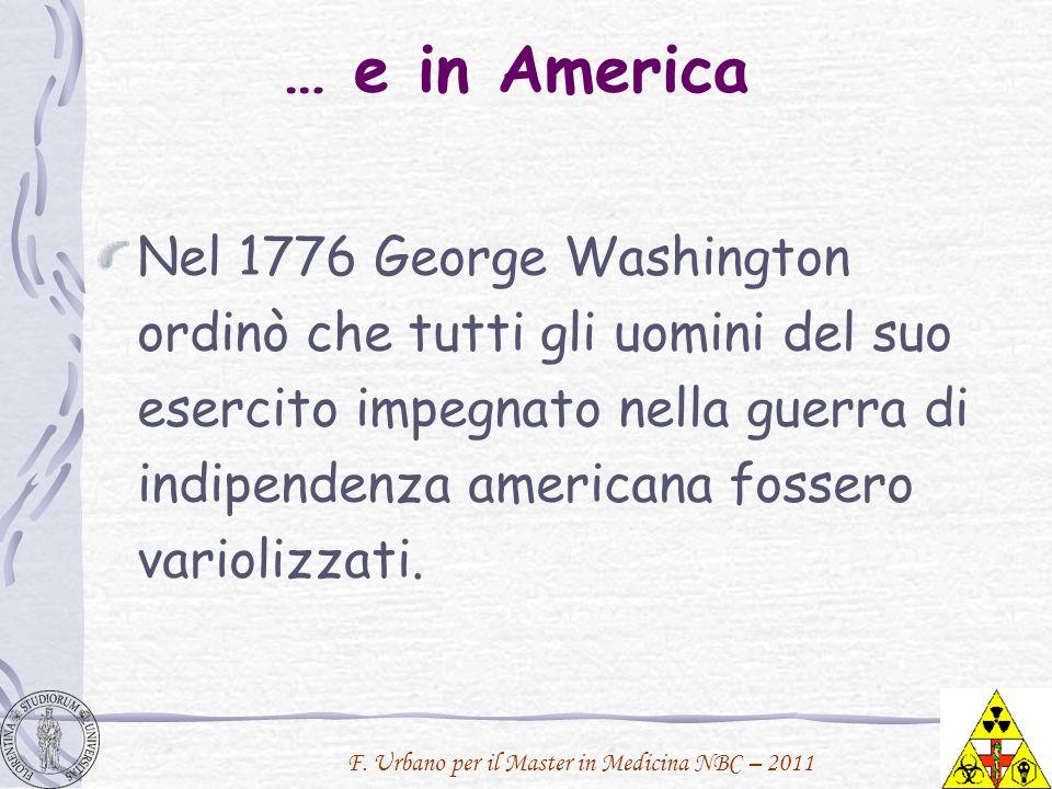 … e in America