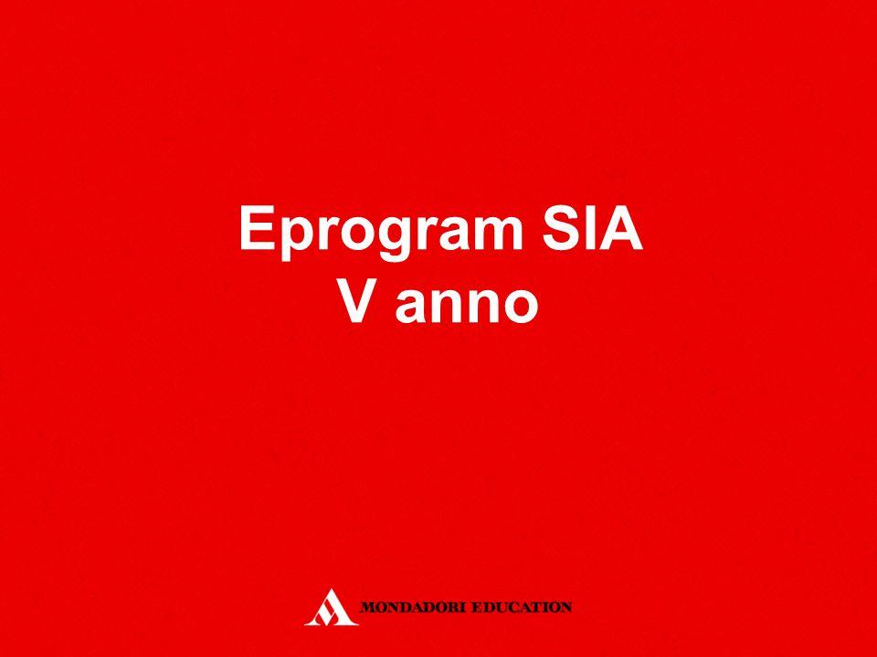 Eprogram SIA V anno