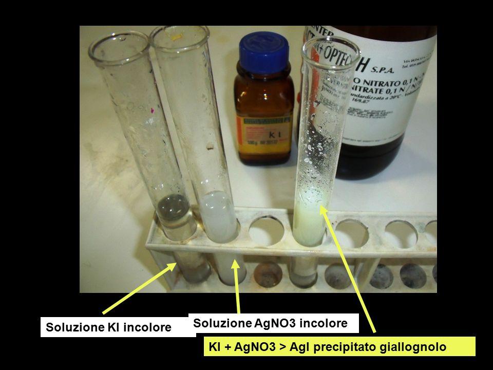 Soluzione AgNO3 incolore