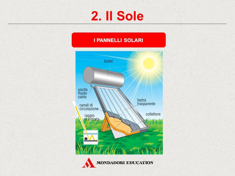 2. Il Sole I PANNELLI SOLARI * *