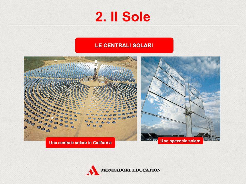 Una centrale solare in California