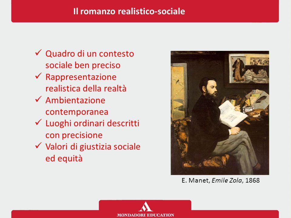 Il romanzo realistico-sociale
