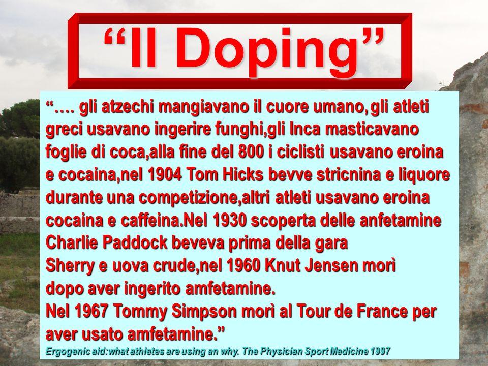 Il Doping Charlie Paddock beveva prima della gara