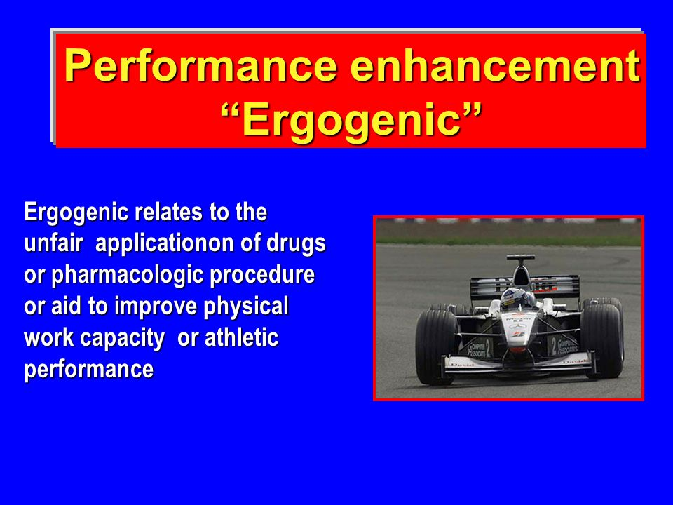 Performance enhancement