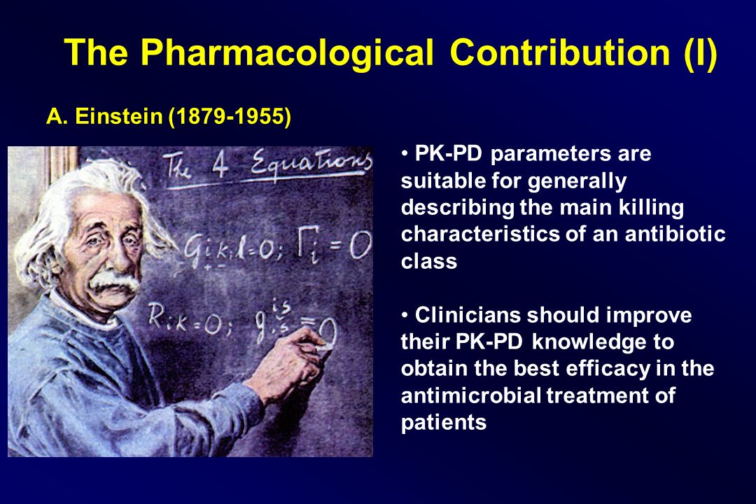 The Pharmacological Contribution (I)