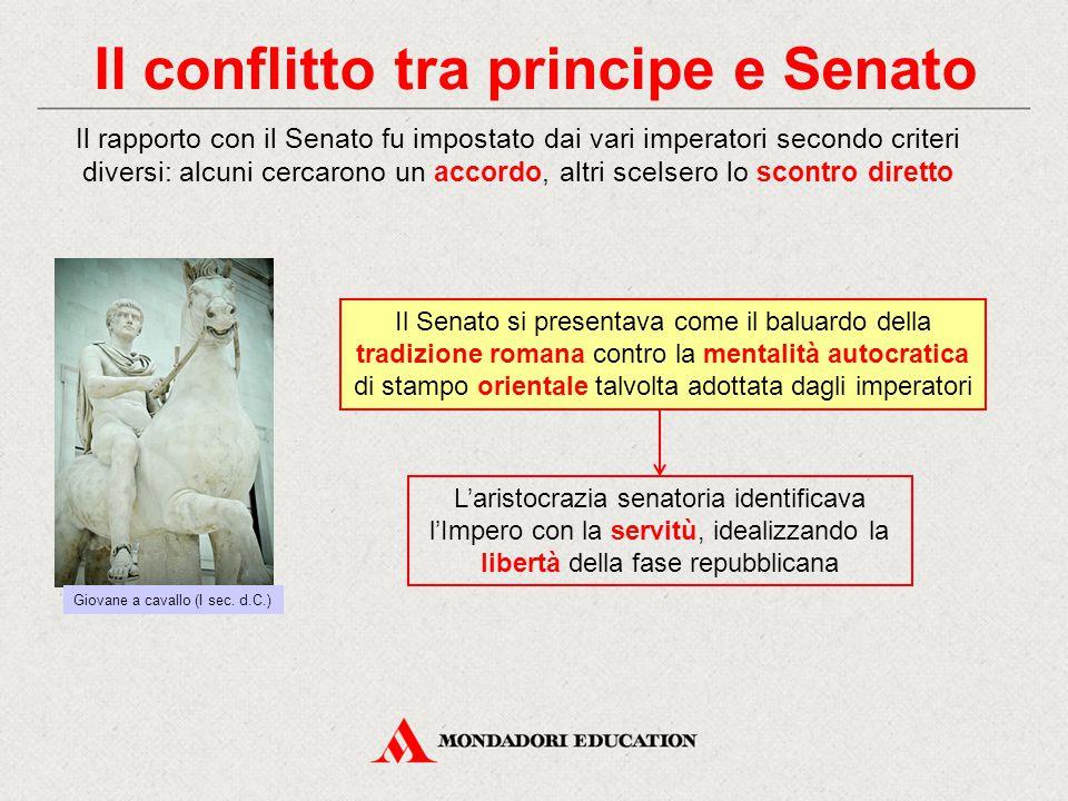 Il conflitto tra principe e Senato