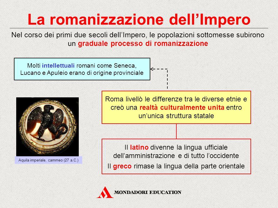 La romanizzazione dell'Impero