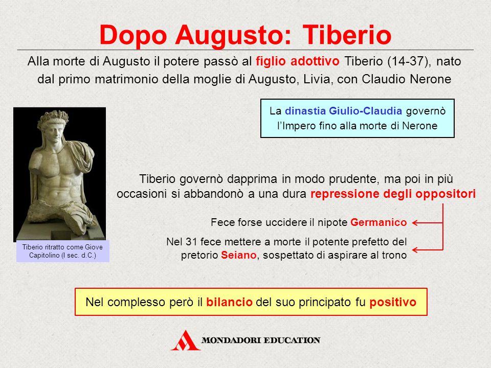 Dopo Augusto: Tiberio