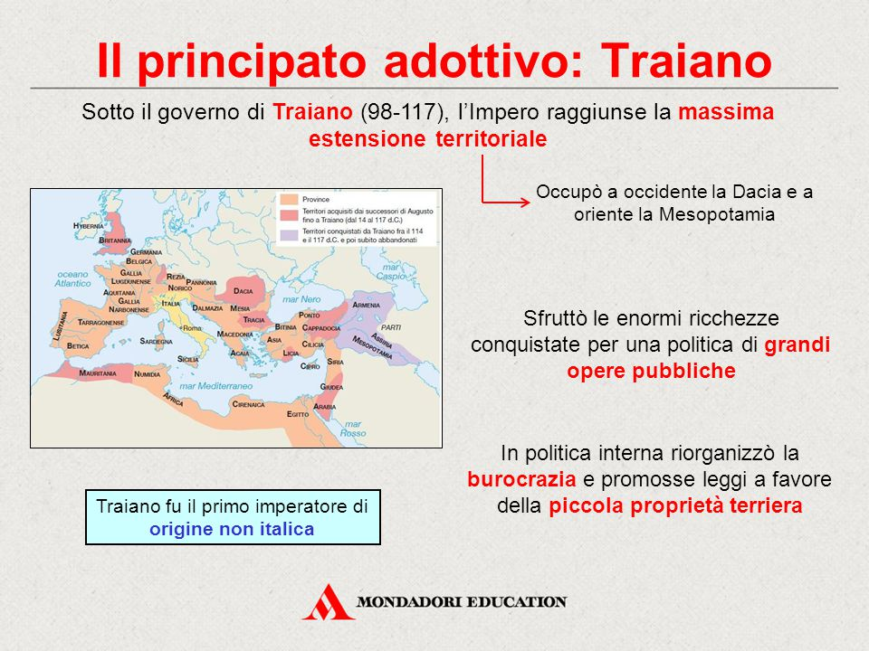 Il principato adottivo: Traiano