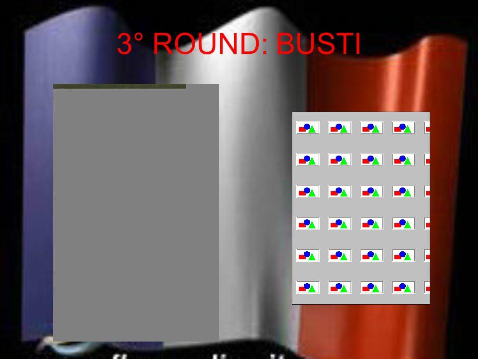 3° ROUND: BUSTI