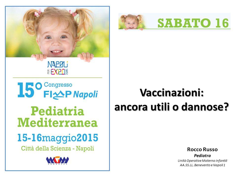 Vaccinazioni: ancora utili o dannose