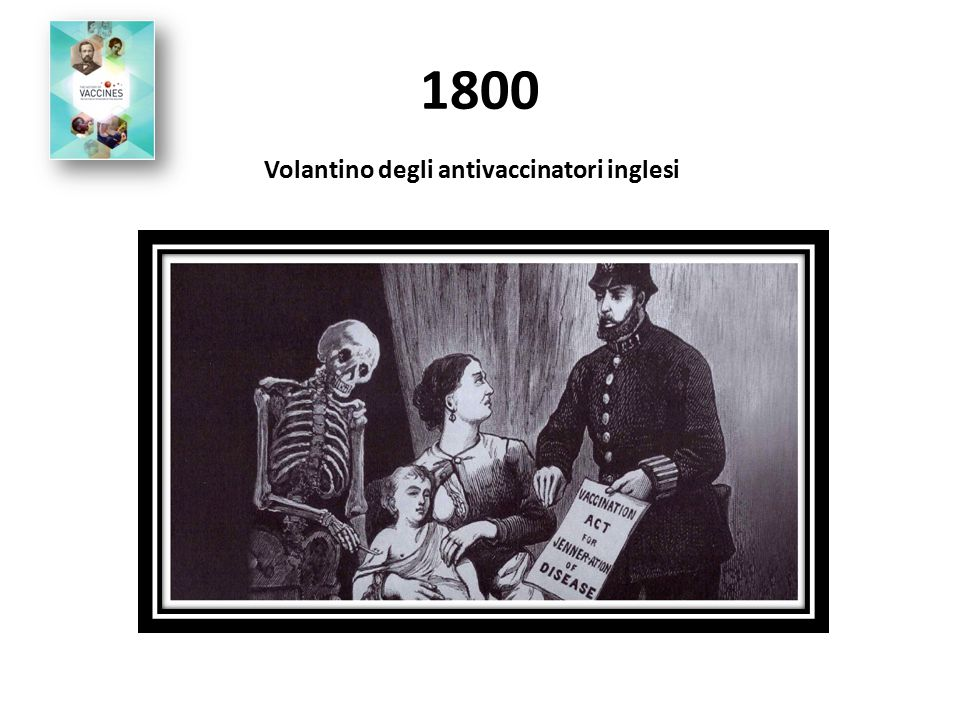 Volantino degli antivaccinatori inglesi