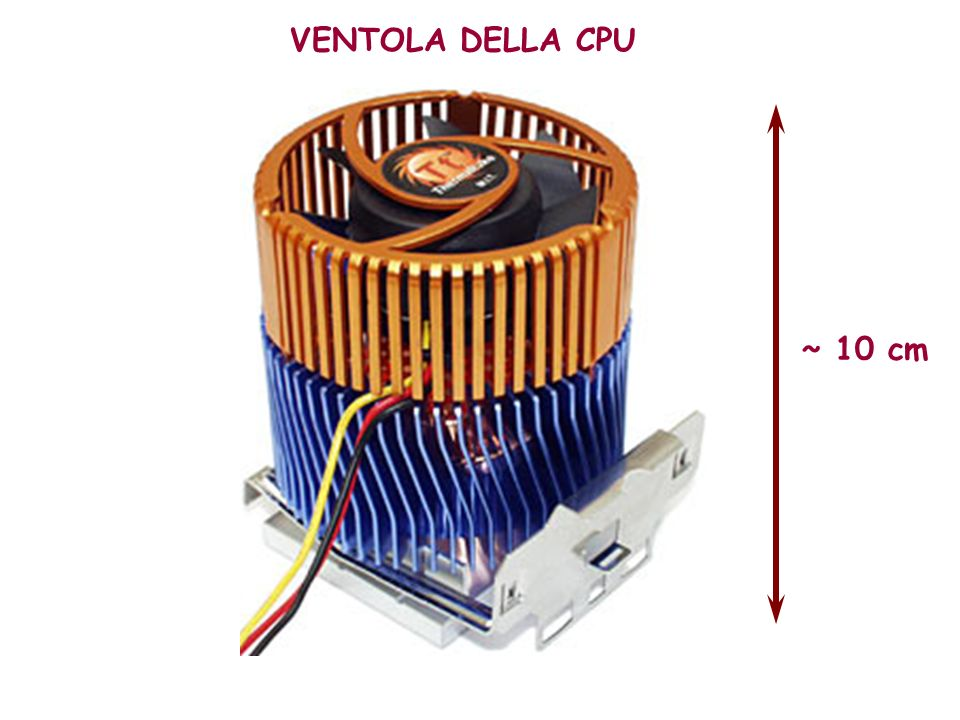 VENTOLA DELLA CPU ~ 10 cm