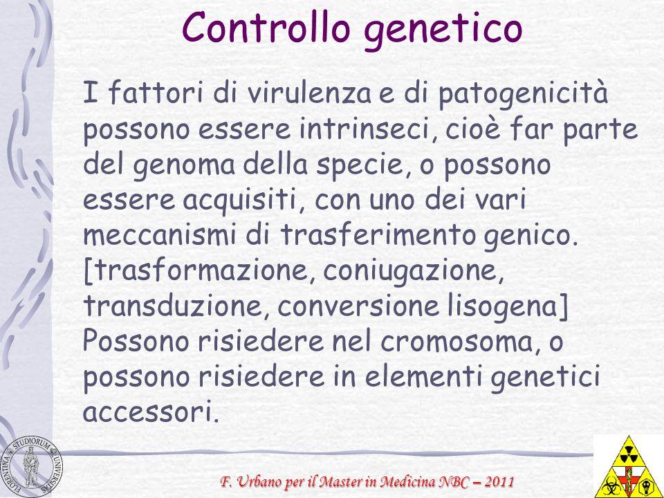Controllo genetico