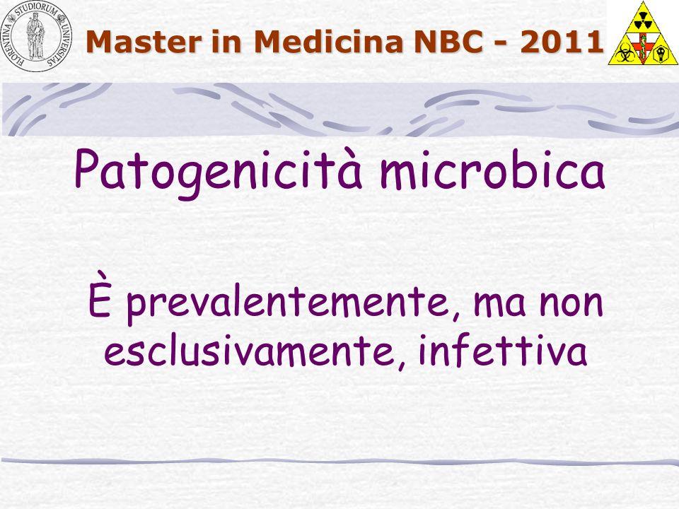 Patogenicità microbica