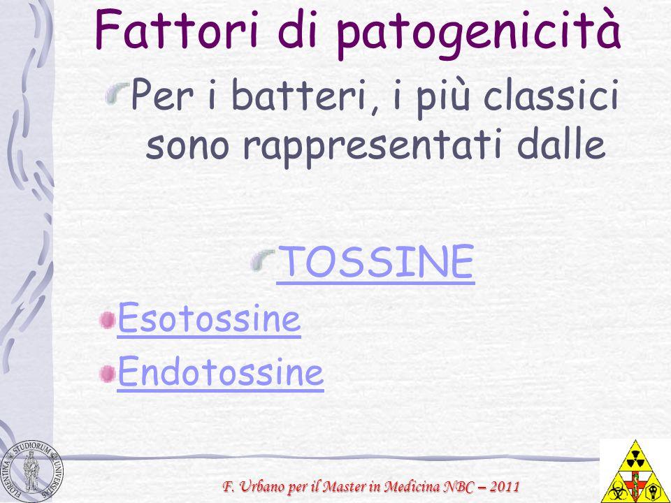 Fattori di patogenicità