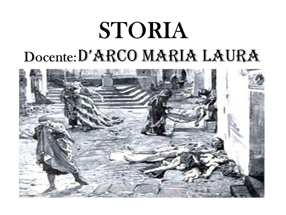 STORIA Docente: D'Arco Maria Laura