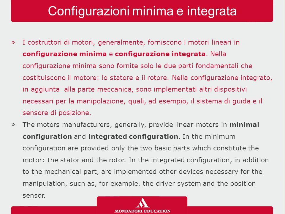 Configurazioni minima e integrata