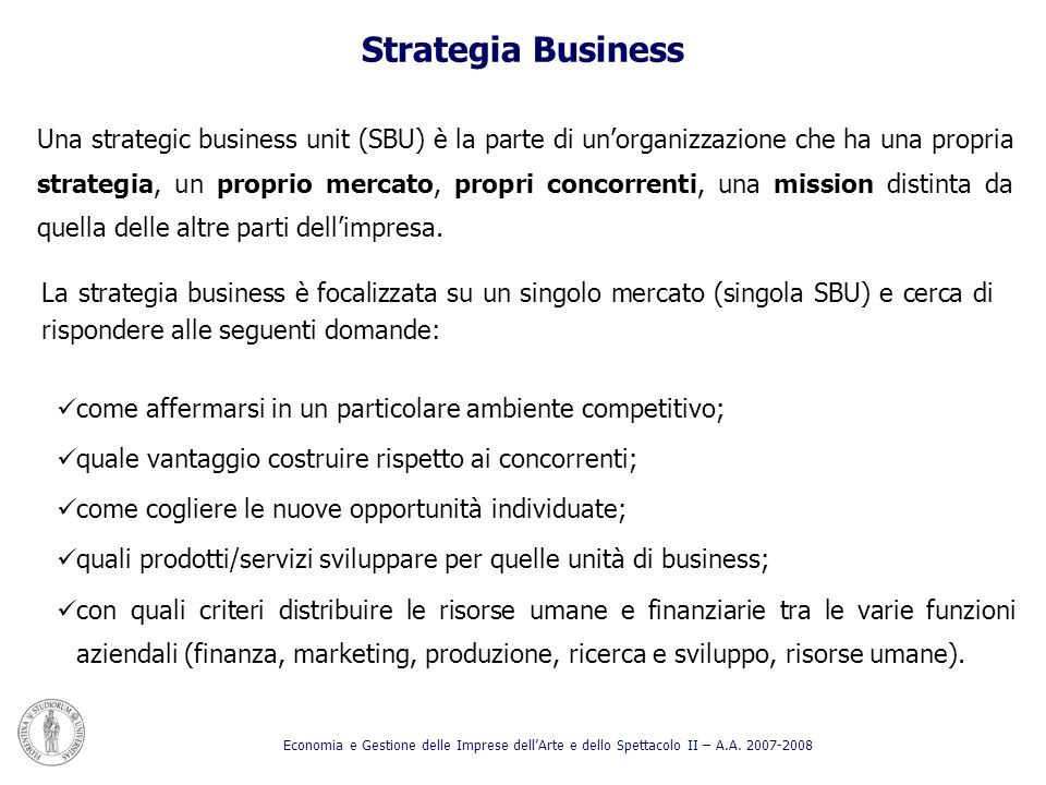 Strategia Business