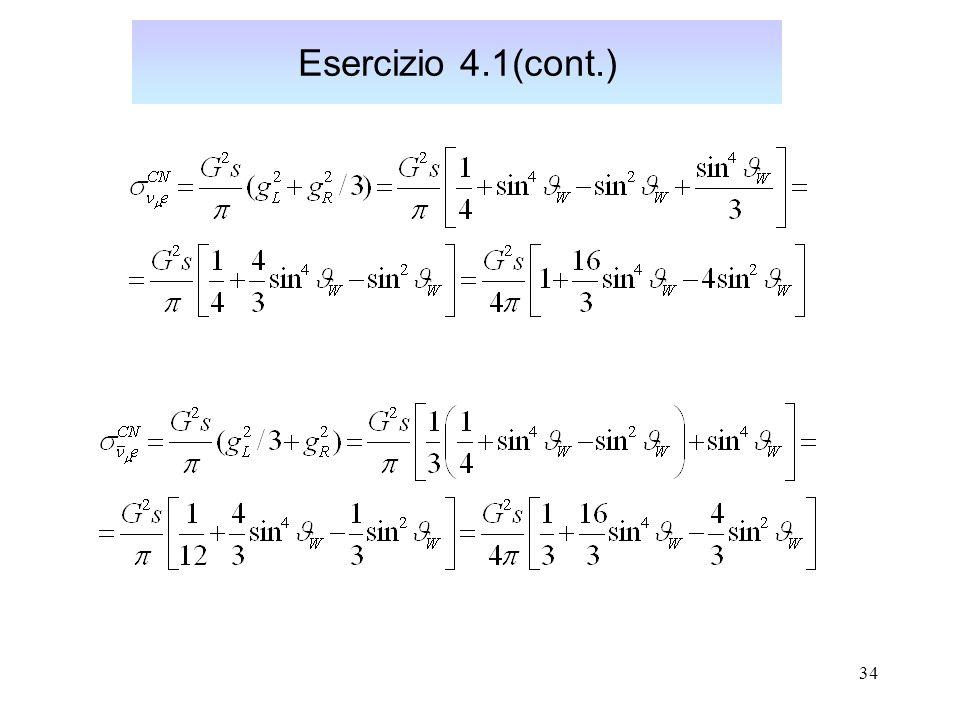 Esercizio 4.1(cont.)